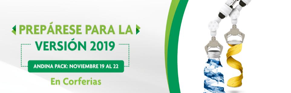 La 15a Mostra Internazionale dell'Industria di Imballaggio Colombia