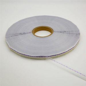 Nastro sigillante con busta risigillabile con marchio stampato