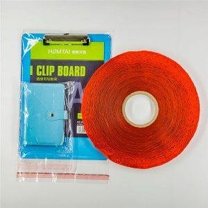 Nastro sigillante per sacchetti di plastica stampati personalizzati